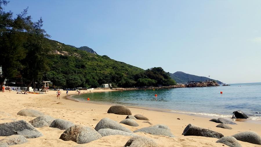 Strand in Hongkong