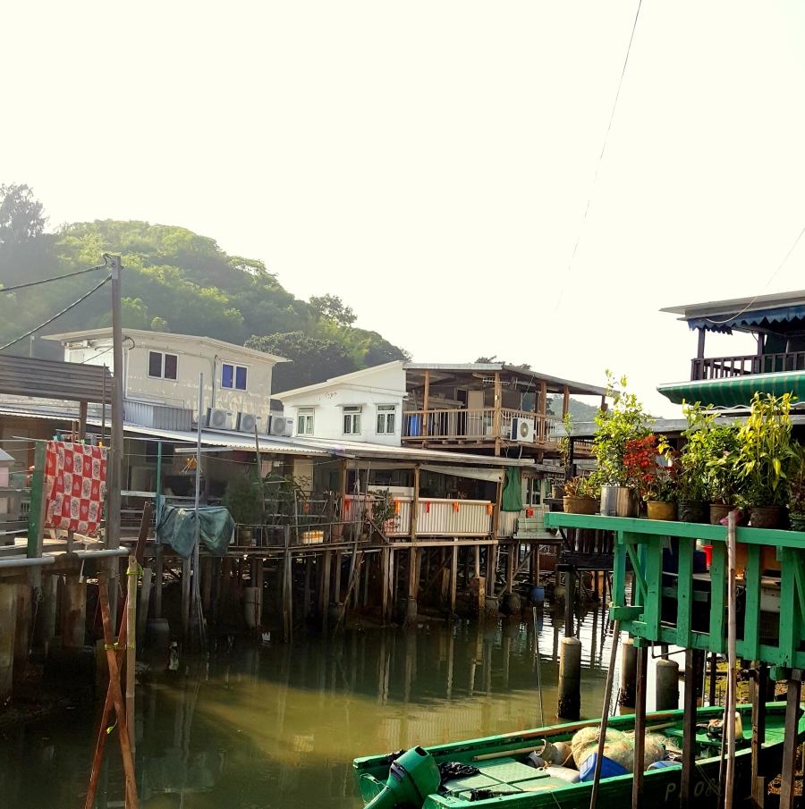 Tai O auf Lantau Island