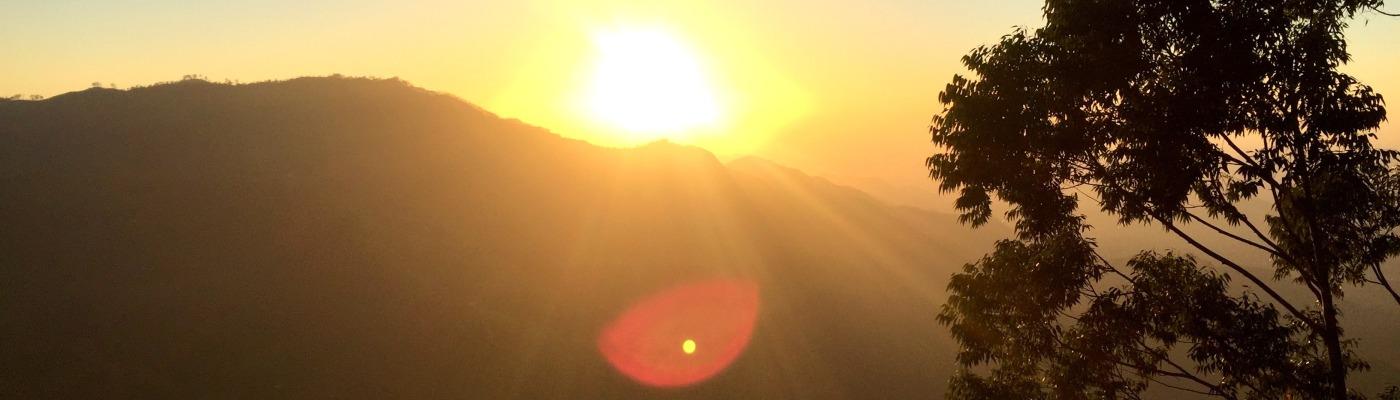 Sonnenaufgang Ellas Rock