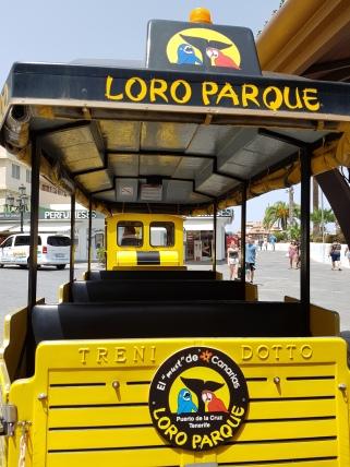 Bimmelbahn zum Lloro Parque