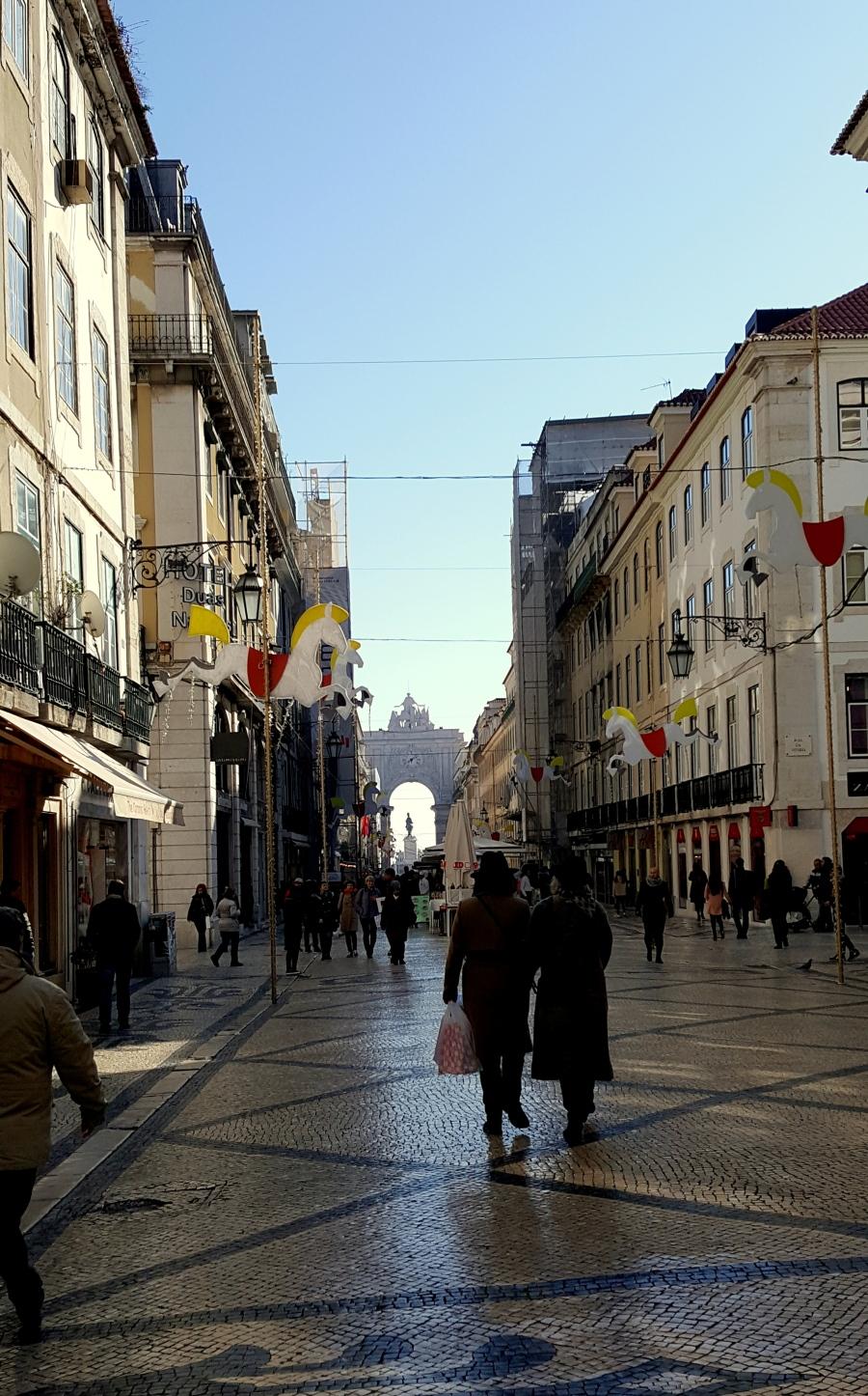 Rua Augusta, Lissabon