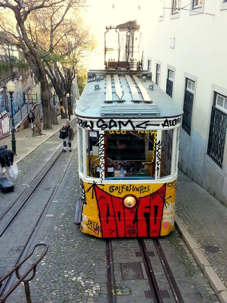 Seilbahn Lissabon