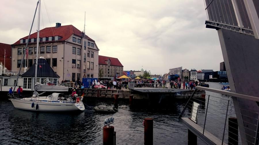 Blick auf Kopenhagen