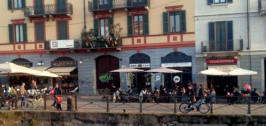 Cafes in Navigli
