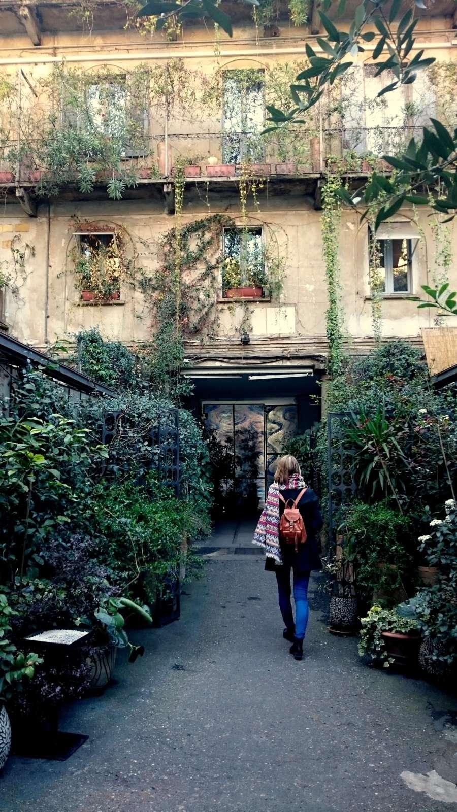 Versteckte grüne Ecken in Mailand