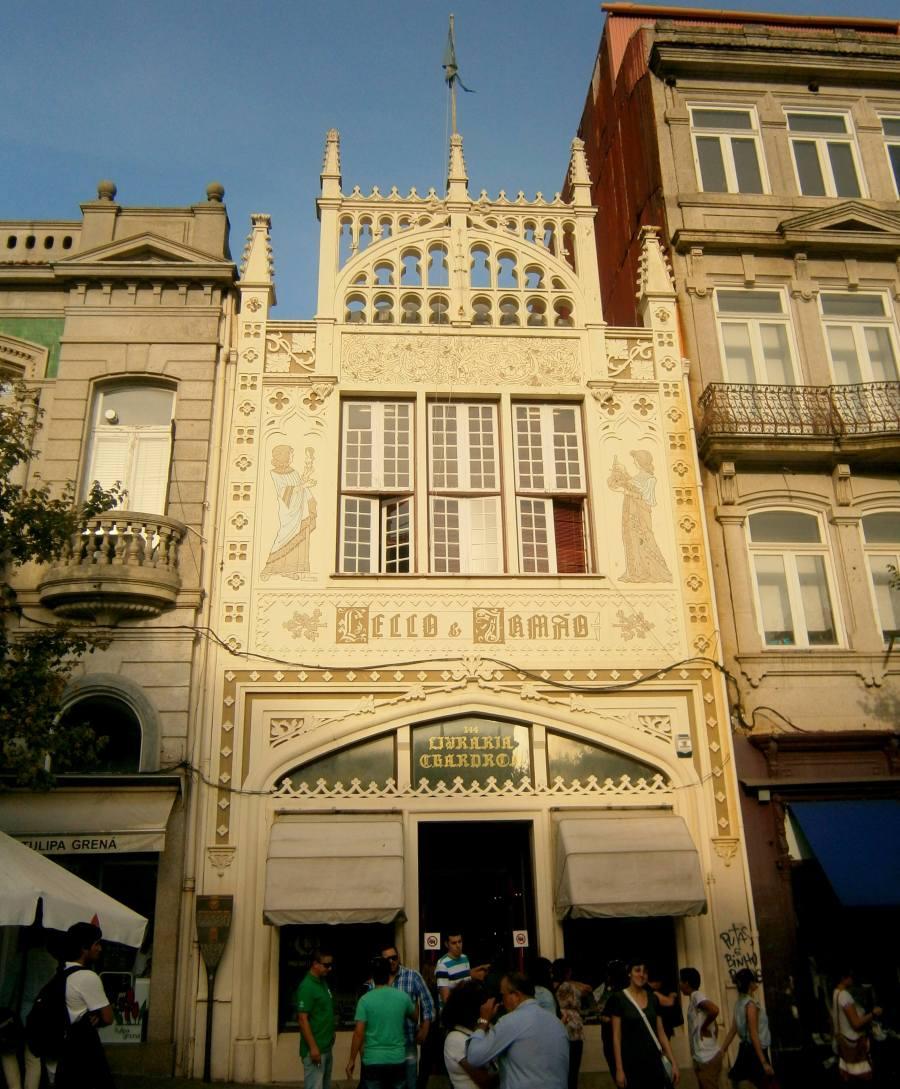 Bibliothek Lello in Porto