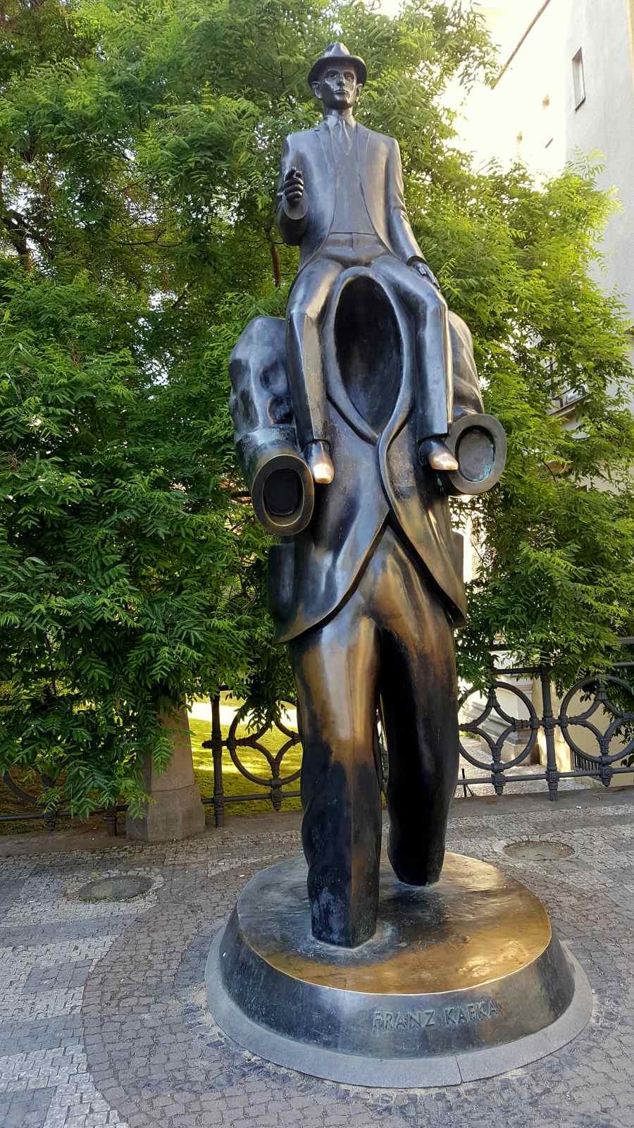 Franz Kafka Denkmal