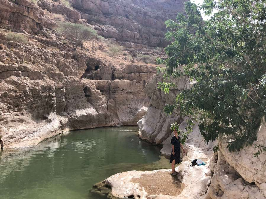 Wadi im Oman