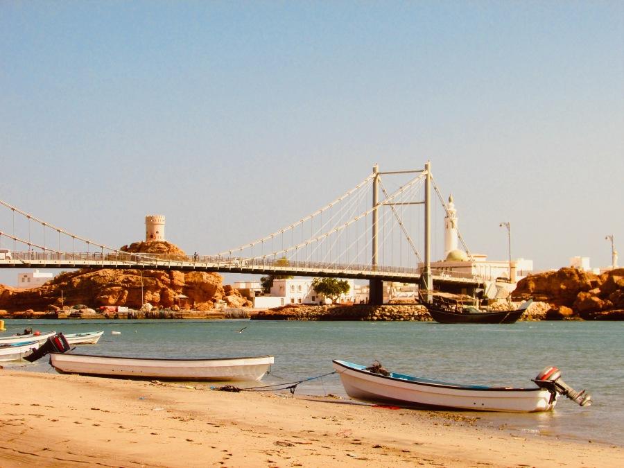 Hafen in Sur