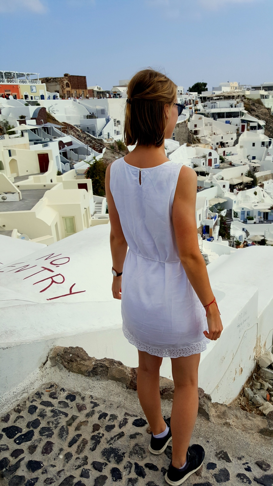 Dächer in Santorini